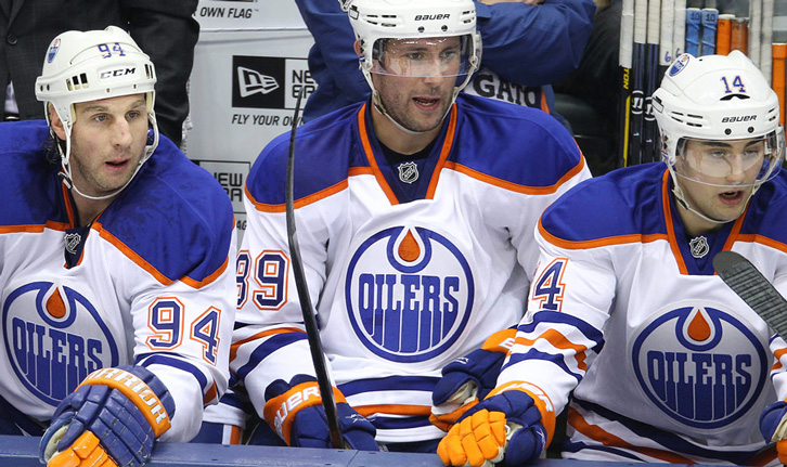 There?s even a drop of that unholy substance right in the Oilers? logo, damn it ! Have these Edmontonians never heard of ?blood for oil? ? When will they come to their senses and just apologize ?