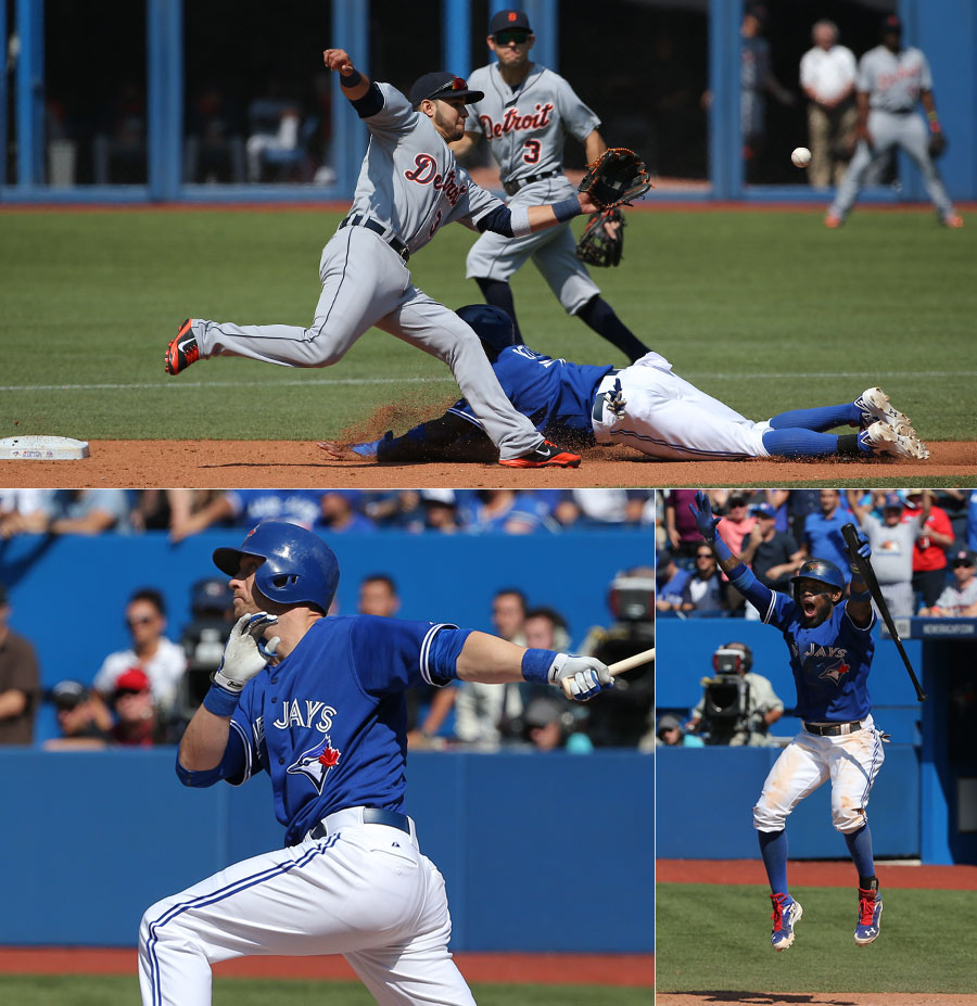 On Saturday, Jose Reyes scored the tying run in the 9th(top) and Nolan Reimold drove home the winner in the 10th