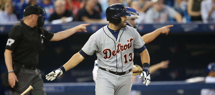 Alex Avila draws a walk, but not before three people call for an appeal to the third base umpire on a check swing, including home plate umpire Mike Everitt and catcher Josh Thole