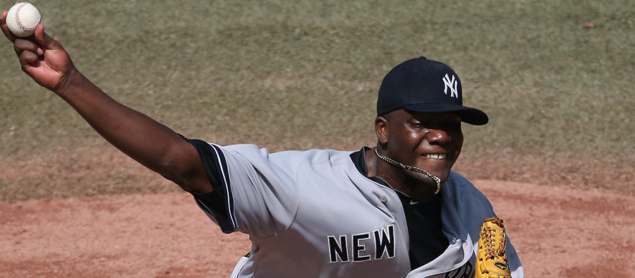 Michael Pineda brings chin music unto himself