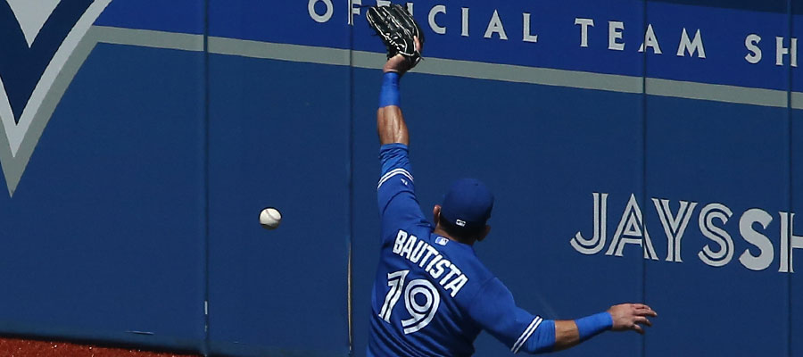 This one was a legit hit over the head of right fielder Jose Bautista ? an RBI double by John Jaso in the third inning ? but nevertheless, a close call