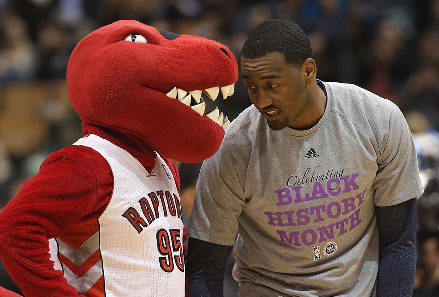 How ?bout Red History Month ?  The Raptor gives John Wall an earful