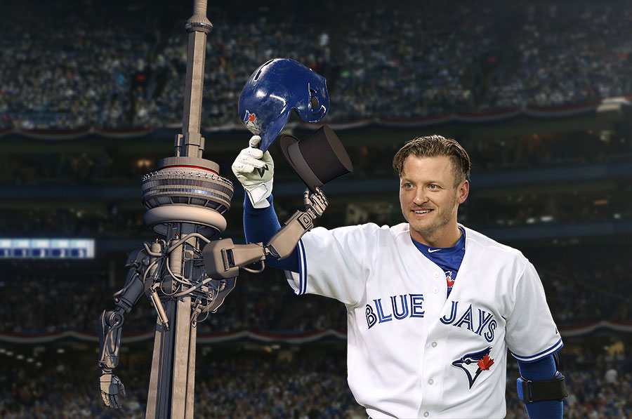 Toronto would like to tip its own hat to you, Mr. Donaldson, for a job well done