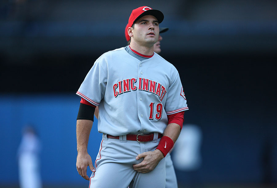 Here?s my Cincinn-outi !  Joey Votto?s mini mound completes him