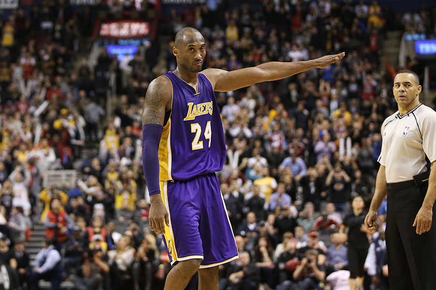 Let?s hope this is not what it looks like ? Kobe Bryant saluting the Fuhrer ?  Say it ain?t so, Gunter