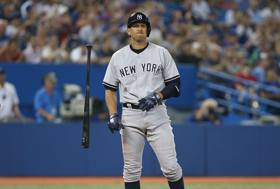 A-Rod?s bat is jettisoned after striking out